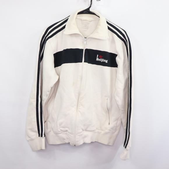 Punto haz En la actualidad  adidas Jackets & Coats | Adidas Mens Medium Beijing China Track Jacket |  Poshmark